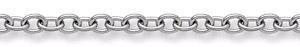 14K White Gold Women's Modern Link Bracelet