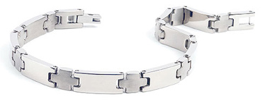 Womens Titanium Bracelet - The Decussata by Forza Tesori