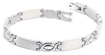 Women's Titanium Bracelet, The Eternity, by Forza Tesori