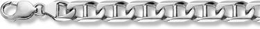 14K White Gold Mariner Bracelet - 14mm