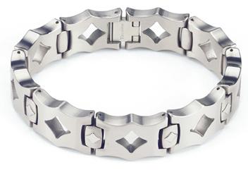 Titanium Bracelet - The Moderna - by Forza Tesori
