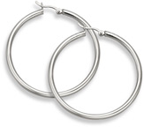 Sterling Silver Hoop Earrings - 2