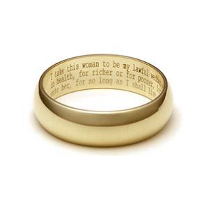 wedding ring engravings