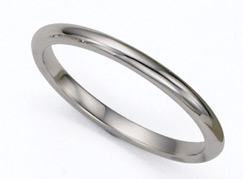 Buy 2mm Platinum Plain Wedding Band Ring