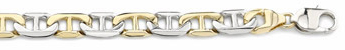 14K Gold Hand-Made Designer Mariner Bracelet