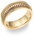 Design Wedding Band - 14K Gold
