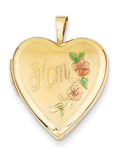 Show Mom That You Love Her with a Personalized Gold Locket