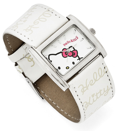 Hello Kitty Watch in White