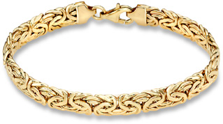 Buy Byzantine Bracelet, 14K Yellow Gold (7mm)