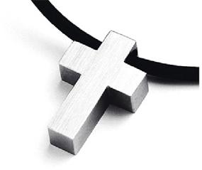 Titanium cross pendant mozeypictures Choice Image