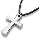 Titanium Cross Pendant