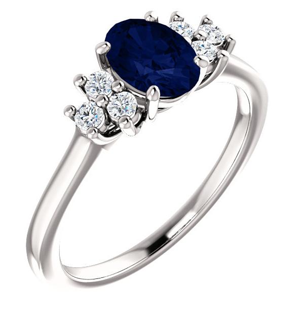 Sapphire | Diamond | White | Gold