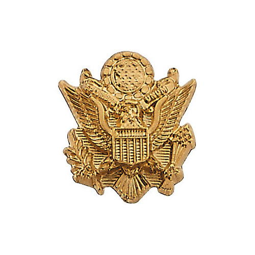 14K Gold U.S. Army Insignia Lapel Pin