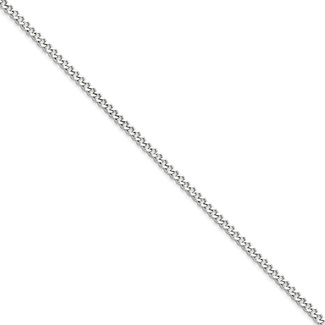 3mm Stainless Steel Curb Chain Necklace