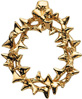 14K Gold Crown of Thorns Pendant