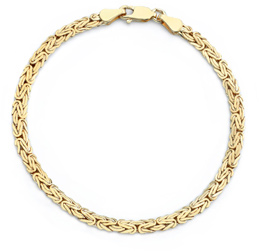 Buy Byzantine Bracelet, 14K Yellow Gold
