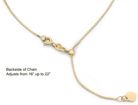 3e050bfd81720 Adjustable Italian Box Chain   Apples of Gold Jewelry Blog