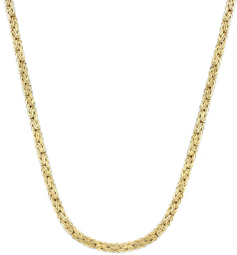 Byzantine Necklace, 14K Yellow Gold