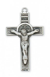 Crucifix Pendant Sterling Silver