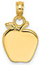 14K Gold Apples of Gold Pendant or Necklace