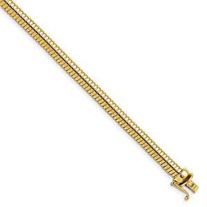 14K Gold Cleopatra Bracelet (4.7mm)