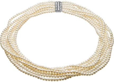 7-Strand Freshwater Cultured Pearl Necklace