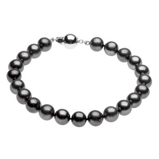 Freshwater Cultured Black Pearl Bracelet