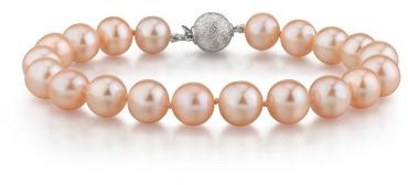 Buy 7-8mm Peach Freshwater Pearl Bracelet – AAAA Quality