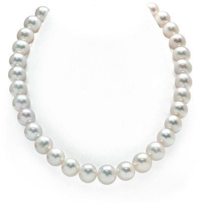 Buy 12-13mm White Freshwater Pearl Necklace