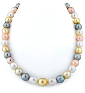 Buy 9-11mm South Sea & Freshwater Off-Round Pearl Necklace