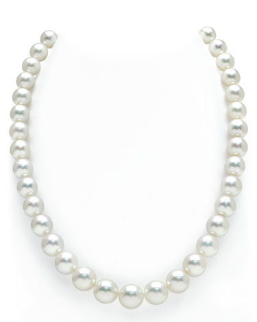 Buy 9-12mm Australian South Sea Pearl Necklace