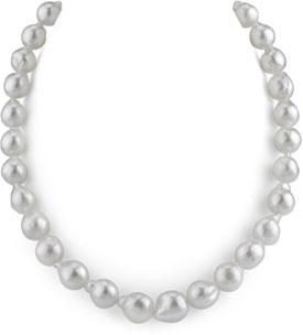 10-11.5mm South Sea Baroque Pearl Necklace