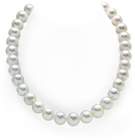 12-13mm White Freshwater Pearl Necklace