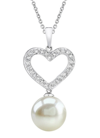 Buy South Sea Pearl of the Heart Pendant