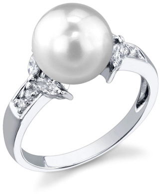 Buy South Sea Pearl & Diamond Fiore Ring