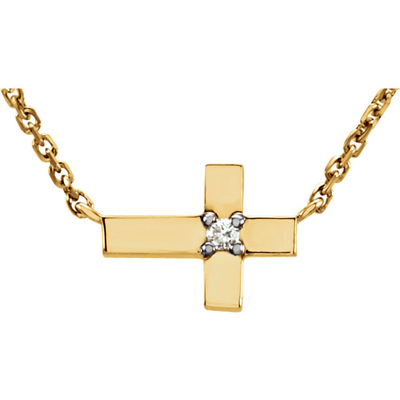Diamond Crosses for Sparkling Holiday Gifts