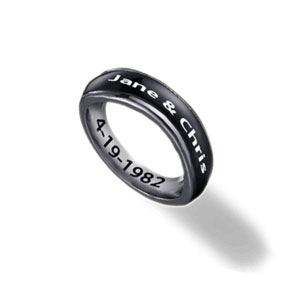 Get Your Best Friend's Names Embossed on a Ring to Create a Memorable Birthday Gift