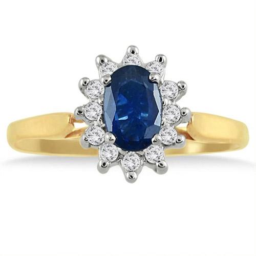 Sapphire | Diamond | Yellow | Ring | Gold