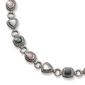 Buy Sterling Silver and Mother of Pearl Bracelet