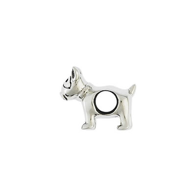 Pitbull Bead in Sterling Silver