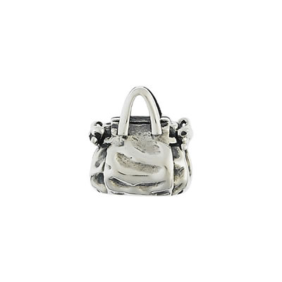 Handbag Bead in Sterling Silver