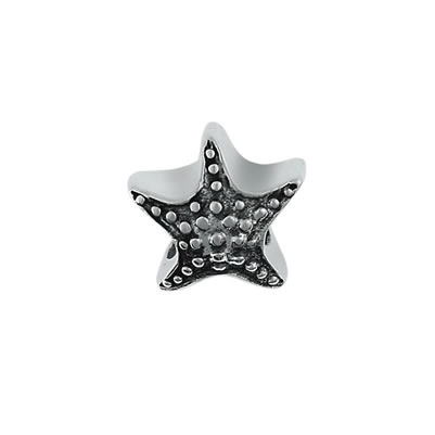 Starfish Bead in Sterling Silver
