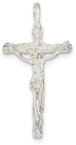 The Crucifixion of the Lord Jesus Christ, Sterling Silver Pendant