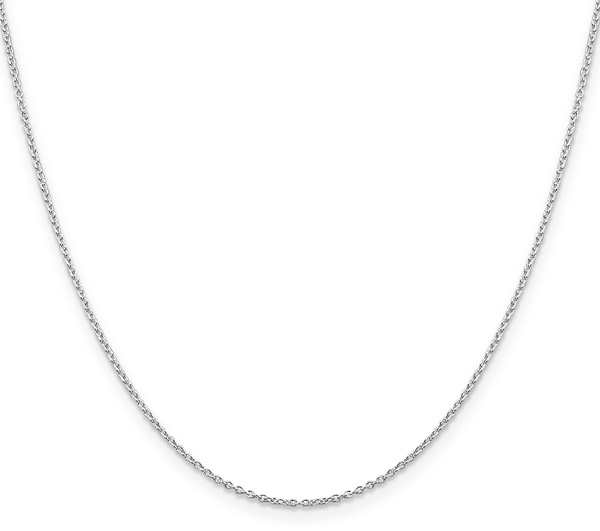 1.25mm Sterling Silver Cable Chain Necklace
