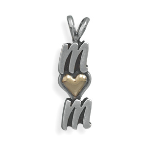 Heart of Gold Sterling Silver