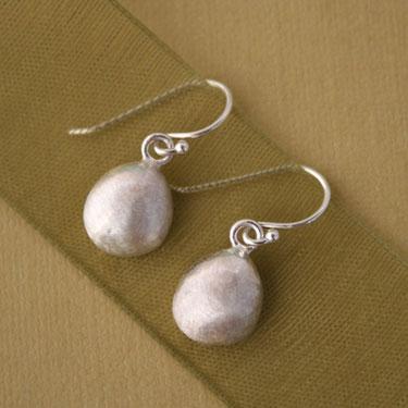 Buy Sterling Silver Gem Drop Earrings