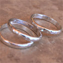 Shiny Sterling Silver Stacking Rings