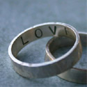 Sterling Silver I Love You Ring - Size 4 1/2