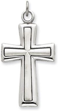 Sterling Silver Latin Cross Pendant