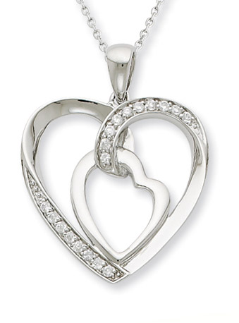 My Heart To Yours Sterling Silver Pendant